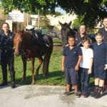 Pony Express Trots into Silver Bluff Elementary